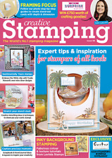 Creative Stamping Magazine Issue 95. Message in a Bottle STAMPS Etc