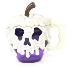 Disney Parks Poison Apple Stein Purple Mug Cup Glow In Dark
