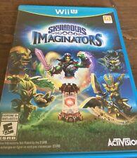 Nintendo Wii U - Skylanders : Imaginators (2016) - E10+ - no portal / figures