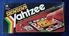 Showdown Yahtzee Dice Game - Milton Bradley 1991 # 4202 -