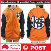 Anime Dragon Ball Z Goku Hoodie Jumper Jacket Zipper Sweatshirt Cosplay Costume