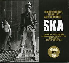SKA MOONSTOMPERS SHUFFLERS SKANKERS 2 CD SET ALTON ELLIS DESMOND DEKKER AND MORE