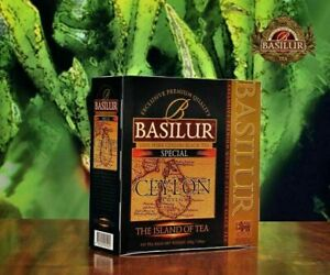 Basilur island of tea collection, Special 100 tea bags Pure Ceylon tea 03 packs