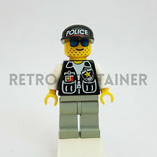 LEGO Minifigures - 1x cop008 - Policeman - Omino Minifig Vintage Cop Set 6398