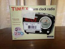 Timex Retro alarm Clock and Radio