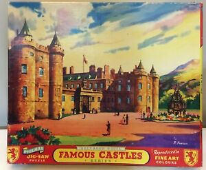 Vintage Philmar 400 Piece Jigsaw Puzzle - Holyrood House Edinburgh Scotland