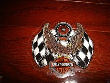 "HARLEY DAVIDSON VINTAGE RACING EAGLE DECAL 5.25"" X 4.75"" (INSIDE) NEW"