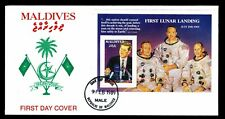 1989 Maldives #1310 First Day Cover 20th Anniv. of 1st Lunar Landing (ESP#L4996)