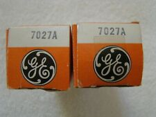 NOS NIB GE 7027A Vacuum Tubes Matched Pair Same Date Codes