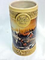 Miller genuine draft beer glass stein mug ducks The Pleasure of Winter bar JG2