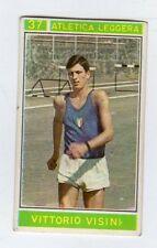figurina - CAMPIONI DELLO SPORT PANINI 1967/68 - NUMERO 37 ATLETICA VISINI