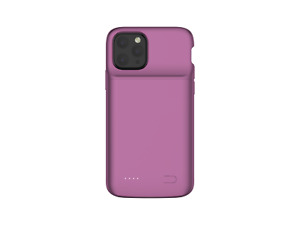 Purple POWER CASE for iPhone 11 Pro Max Charging Back Up Slim Battery Cover
