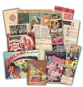 1950s Childhood memorabilia pack  (mp)