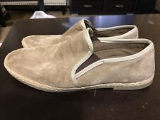 Men's Michael Shannon Suede Loafers, Size 11, Leather. Made in India