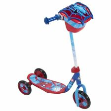Huffy 28669 Wide Deck 3-Wheeled Marvel Spider-Man Scooter for Ages 3 and Over