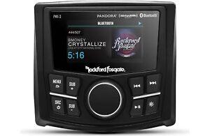 "Rockford Fosgate PMX-3 Compact Digital Media Marine Receiver w/ 2.7"" Display 200"