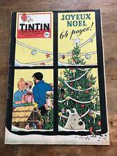 JOURNAL TINTIN 530 France (1958) couv HERGEavec calendrier 1959 côte BDM : 50e