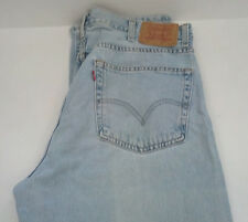 vintage 505 levi's regular fit worned  faded  jeans  denim pants
