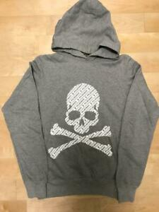 THEATER8 × mastermind × PLAYBOY Hoodie Gray men's Size : S