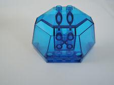 Lego 1 x cabina bisel con 6085 transparente azul oscuro 5x8x3 6175 6195 1822