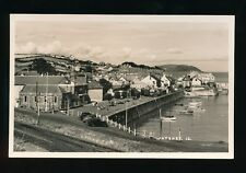 Somerset WATCHET General view Harbour c1940/50s? RP PPC by HH Hole