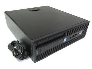 HP Z240 SFF Workstation   3.30GHz Hex Core Xeon E3-1225 v5   4GB DDR4   DVD-RW