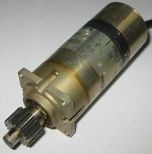 """TRW 24V DC - 300 RPM - Gearhead High Torque Motor w/ 1/4"""" Shaft w/ 18T Gear"""