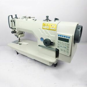 V0 220V Electronic Lockstitch Reverse Industrial Sewing Machine High Speed New