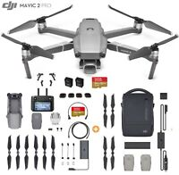 DJI Mavic 2 Pro Drone with Smart Controller + Fly More Kit, 128GB + 4 Filter Set