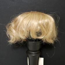 """Dollspart Doll Wig 10"""" Blonde Short Baby Reborn Toddler Style Boy"""