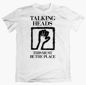 TALKING HEADS 'This Must Be The Place' T-shirt, devo, xtc, wire, television