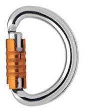 Petzl M37 TL Omni TRIACT Link Auto Locking Semi‑Circle Carabiner -Single or Bulk