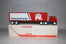 Winross, 1980 Presidential Election Truck, Republican, Reagan, Bush, with Box #3