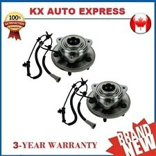 2X FRONT WHEEL BEARING HUB ASSEMBLY FOR JEEP GRAND CHEROKEE 2005 2006 2007 w/ABS