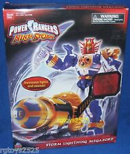 Power Rangers Ninja Storm STORM LIGHTING MEGAZORD New w Lights & Sounds! 2003
