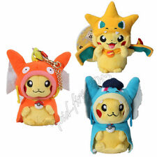 3pcs Pokemon Pikachu Gyarados Magikarp Mega Charizard Y Plush Doll Soft Toy Gift