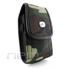 Camouflage Vertical Heavy Duty Rugged Case Pouch For Sonim XP3400 Armor