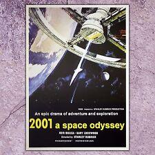 Poster 2001 A Space Odyssey - Size:70x100 - S.Kubrick