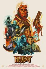 Hellboy Alternative Movie Poster Art by Mondo Artist Paul Mann #/63