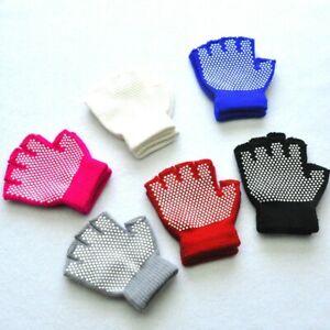 Children Kids  Winter Warm Knitted Fingerless Non-slip Fashion Mittens Gloves