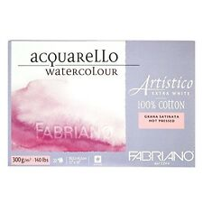 Fabriano Artistico Extra White Hot Press Block 30,5 x 45,5 cm