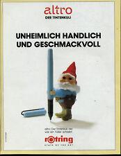 Rotring -- altro Der Tintenkuli -- Unheimlich Handlich  -- Werbung von 1991 -