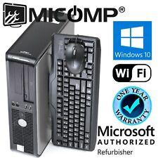 Clearance 🚩 Dell Desktop Computer PC Intel 3.0Ghz 8GB RAM 1TB WIFI WINDOWS 10