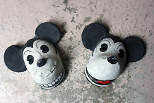 Antique Two Very Rare German Walt Disney Mickey Mouse Masks c.1935