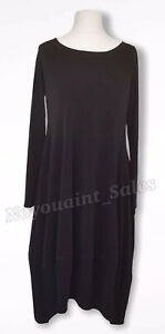 MarlaWynne Luxe Crepe Jersey Scoop Neck Balloon Dress Black Size XS BNWOT NEW