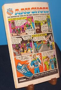 AAU SHOES INTERMARK ADVERTISEMENT COMIC STRIP 1978 DC COMICS SHUPERSTAR