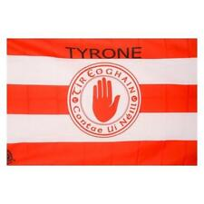More details for tyrone gaa official 5 x 3 ft flag - large crested all ireland football final