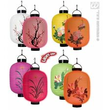 Luz LED linternas orientales (singles) 1 de 3 estilos 20cm Decoración para chino