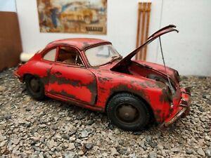 1/18 Porsche 356b Junkyard Model