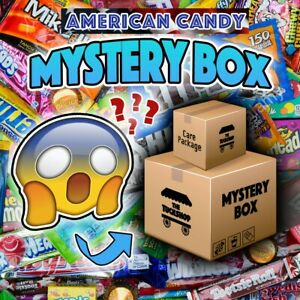 American Candy Box! Variety of Sweets/Chocolates/Snacks and Drinks